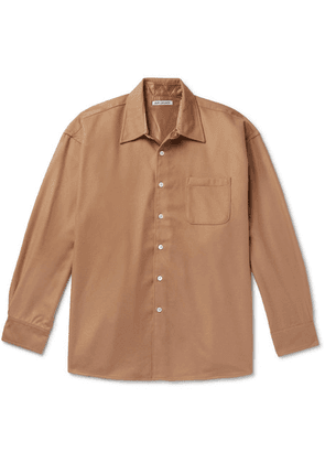 Our Legacy - Borrowed Wool And Cashmere-blend Overshirt - Beige