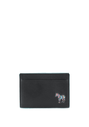 PS Paul Smith embroidered logo cardholder - Black