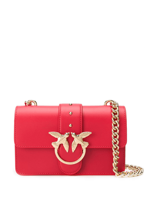 Pinko Soft Simply Mini Love cross body bag - Red
