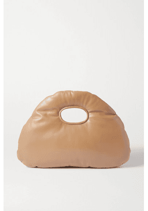 A.W.A.K.E. MODE - Lucy Padded Faux Leather Tote - Beige