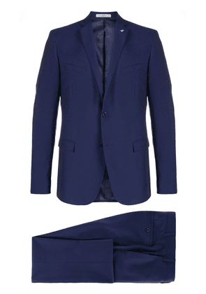 Corneliani single breasted suit - Blue
