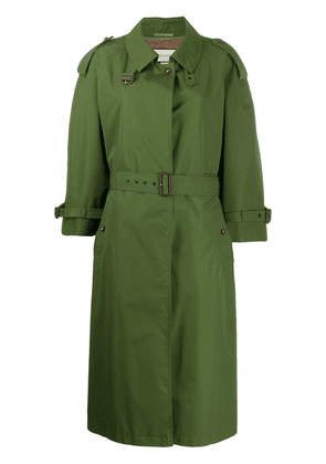 Gucci belted trench coat - Green