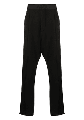 Haider Ackermann stretch fit track pants - Black