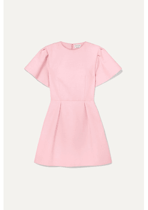 Alexander McQueen - Wool-blend Crepe Mini Dress - Pink