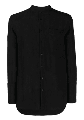Neil Barrett mandarin collar shirt - Black