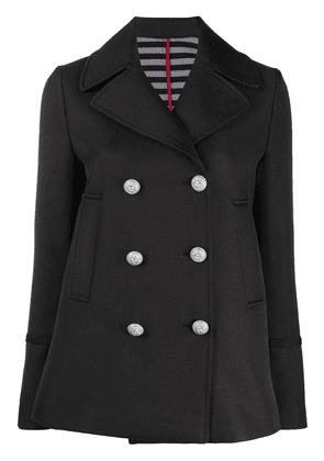 Pinko double-breasted fitted jacket - Black