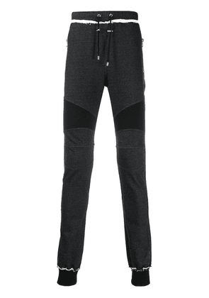 Balmain slim-fit track pants - Black