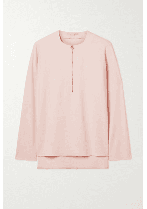 Stella McCartney - + Net Sustain Arlesa Stretch-cady Blouse - Pastel pink