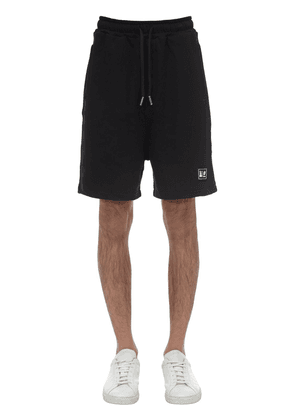 Sweat Shorts W/rubber Patch