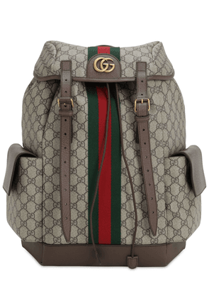 Coated Gg Supreme Ophidia Backpack