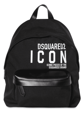 New Icon Rubberized Print Tech Backpack