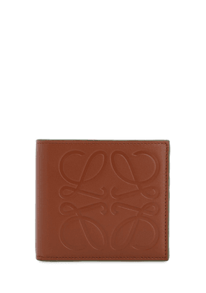 Anagram Leather Billfold Coin Wallet