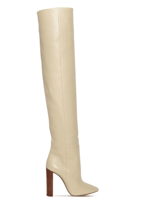 105mm Soixante Seize Leather  Boots