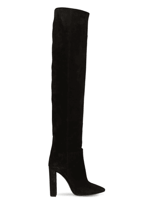 105mm Soixante Seize Suede Boots