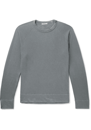 James Perse - Loopback Supima Cotton-jersey T-shirt - Anthracite