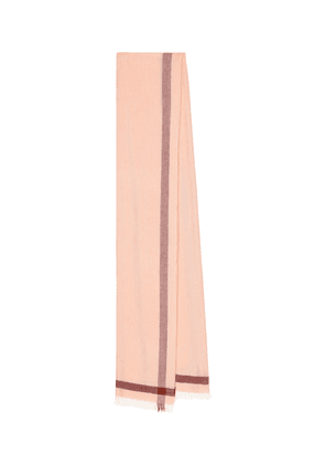 Cashmere and linen scarf