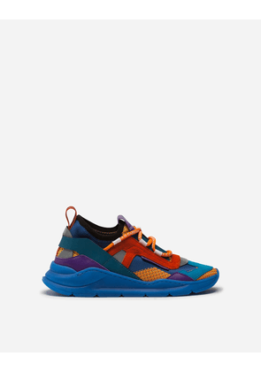 Dolce & Gabbana Shoes - DAYMASTER SNEAKERS IN MIXED MATERIALS MULTICOLORED