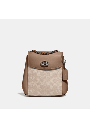 Coach Parker Convertible Backpack 16 In Signature Canvas