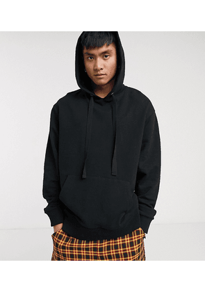 COLLUSION hoodie in black