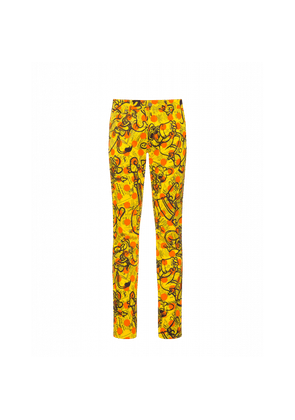 Cotton Trousers Yellow Pages
