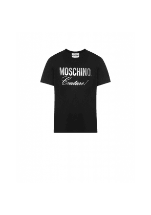 Jersey T-shirt With Silver Logo