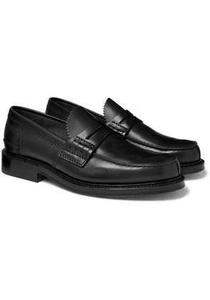 Church's - Willenhall Polished-leather Penny Loafers - Black