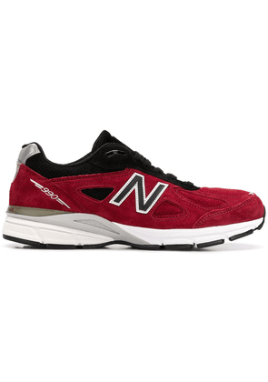 New Balance M990 RB4 suede sneakers - Red