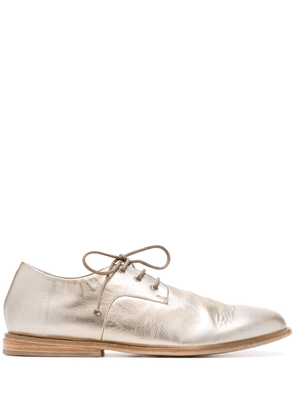 Marsèll metallic lace-up shoes - GOLD