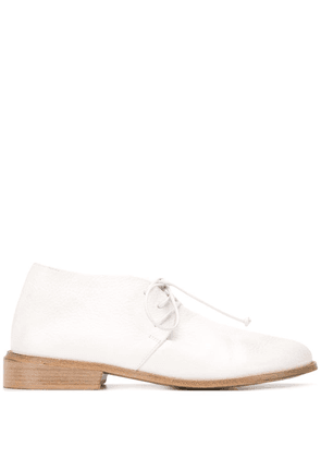 Marsèll embossed lace-up shoes - White