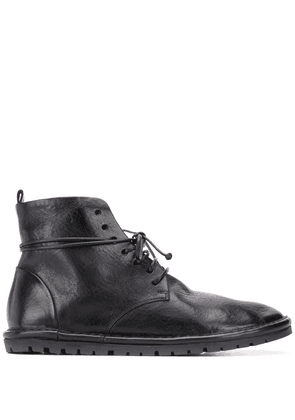 Marsèll embossed lace-up boots - Black