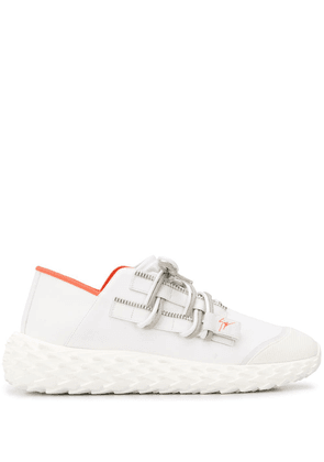 Giuseppe Zanotti lace-up low-top sneakers - White