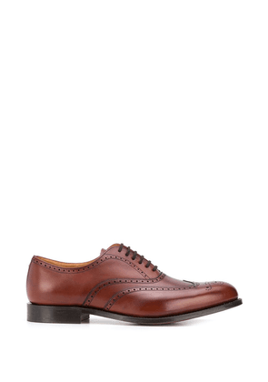 Church's stitched Oxford brogues - Brown