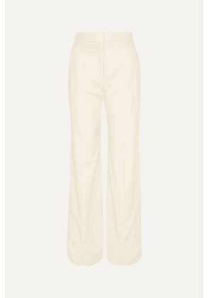 Stella McCartney - Wool-twill Wide-leg Pants - Cream