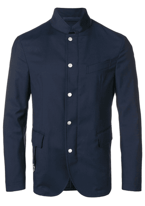 Eleventy classic fitted blazer - Blue