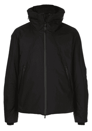 The Viridi-Anne high standing collar padded jacket - Black