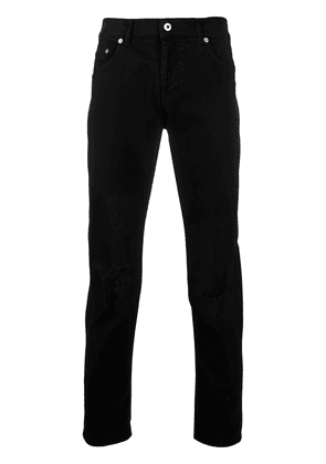 Dondup ripped slim fit jeans - Black