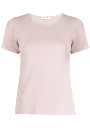 P.A.R.O.S.H. short-sleeve knit top - PINK