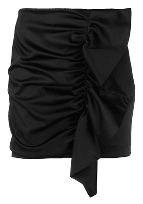 P.A.R.O.S.H. Alice ruffled mini skirt - Black