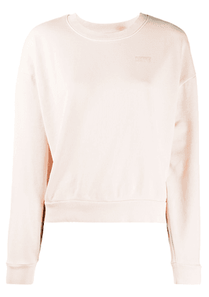 Levi's Diana relaxed-fit cotton sweatshirt - PINK