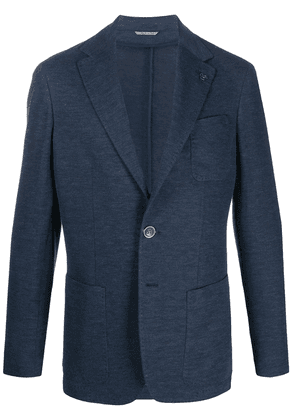 Canali patch pocket blazer - Blue