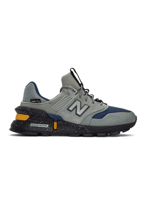 New Balance Grey and Navy 997 Sport Sneakers