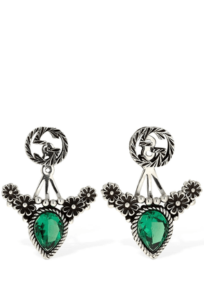 Gucci Garden Earrings W/ Detachablestud