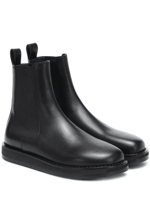 Gaia leather ankle boots
