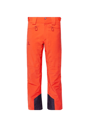 Salomon - Icemania Ski Pants - Orange