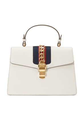 Sylvie Leather Top-Handle Bag
