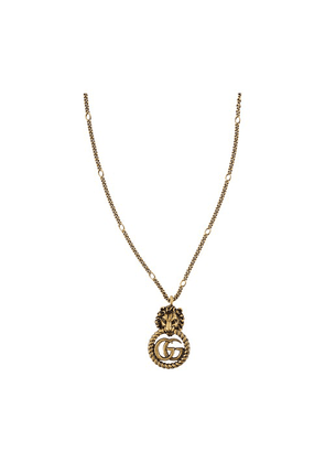 GG Marmont lion necklace