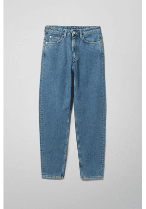 Lash Extra High Mom Jeans - Blue