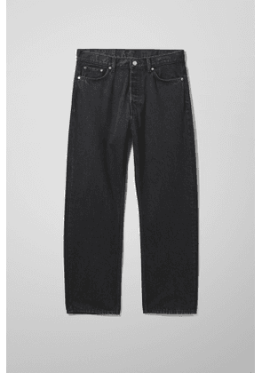 Space Relaxed Straight Jeans - Black