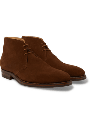 James Purdey & Sons - Suede Chukka Boots - Brown