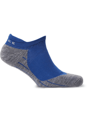 FALKE Ergonomic Sport System - Ru4 Stretch-knit No-show Socks - Blue
